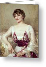 Portrait Of A Countess Greeting Card