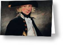 Portrait Of A Young Midshipman, C.1796 Greeting Card