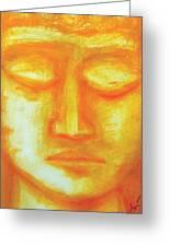 Portrait Of Buddha Greeting Card