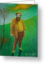 Portrait Of Claude Monet Greeting Card