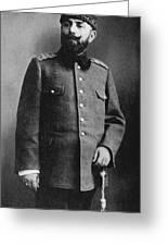 Portrait Of Djemal Pasha Greeting Card