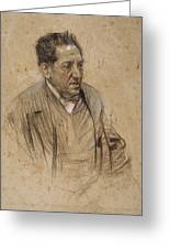 Portrait Of Iscle Soler Greeting Card