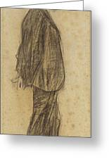 Portrait Of Joan Gay  Greeting Card