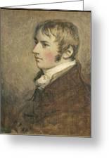 Portrait Of John Constable Aged Twenty Greeting Card
