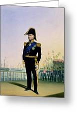 Portrait Of King William Iv Plate 14 Greeting Card