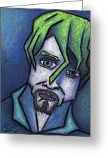 Portrait Of Kurt Greeting Card