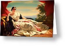 Portrait Of Leonilla Greeting Card