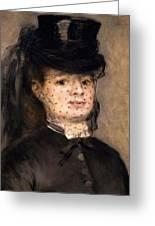 Portrait Of Madame Paul Darras Greeting Card