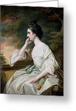 Portrait Of Miss Anne Dutton Greeting Card