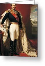 Portrait Of Napoleon IIi Louis Napoleon Bonaparte Greeting Card