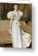 Portrait Of The Countess Of Clary Aldringen Greeting Card