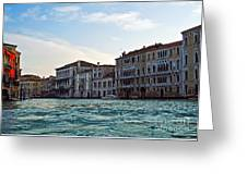 Portrait Of Venice Greeting Card