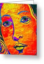 Portrait Of Venus Greeting Card