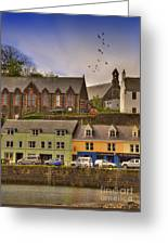 Portree. Isle Of Skye. Scotland Greeting Card