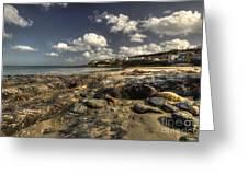 Portscatho Beach  Greeting Card