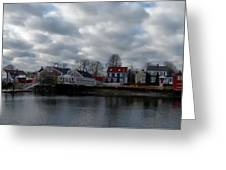 Portsmouth Bay Greeting Card