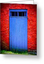 Portsmouth Door 6 Greeting Card
