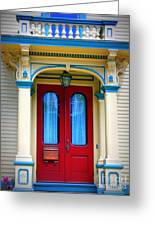 Portsmouth Door 7 Greeting Card