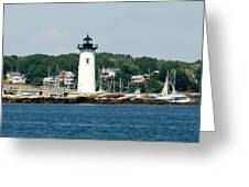 Portsmouth Nh Harbor Greeting Card
