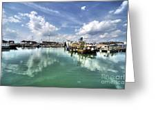 Portsmouth Old Harbour  Greeting Card