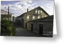 Portugal Small Town Greeting Card