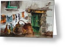 Portugal  Water And Wine. Greeting Card