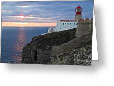 Portuguese Lands End  Greeting Card