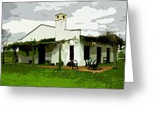 Posada De Laguna Lodge Greeting Card
