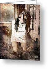 Possessed Greeting Card by Jt PhotoDesign