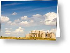Post Hospital Ruins Fort Laramie Greeting Card