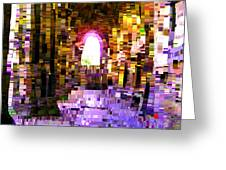 Post-it Archway Greeting Card