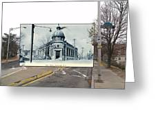 Post Office In Pawtucket Rhode Island Greeting Card