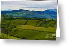 Postcard From Ecuador... Greeting Card