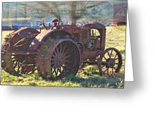Postcard From The Past Greeting Card by Kathy Jennings