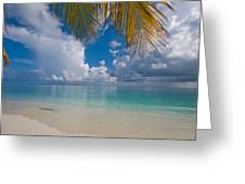 Postcard Perfection. Maldives Greeting Card