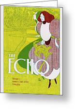 Poster For 'the Echo' -  Chicago's Greeting Card