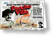 Poster Telly Savalos Pancho Villa In Pancho Villa 1972-2013 Greeting Card
