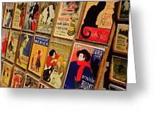 Posters In Paris Greeting Card