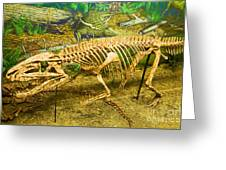 Postosuchus Fossil Greeting Card