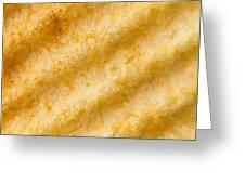 Potato Chip Macro 2 Greeting Card