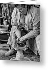 Potters Wheel V1 Greeting Card