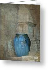 Pottery And Archways II Greeting Card