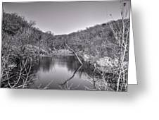 Pouders Pond 2 Greeting Card