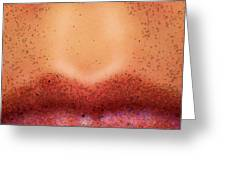 Pouty Lips Greeting Card