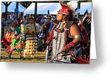 Pow Wow 13 Greeting Card