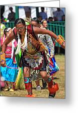 Pow Wow 64 Greeting Card