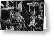 Pow-wow Buddies Greeting Card