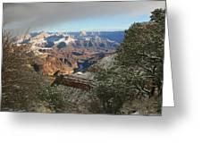 Powder Coated Canyon Greeting Card
