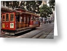 Powell And Market Cable Car Greeting Card