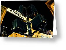Powell Street Greeting Card
